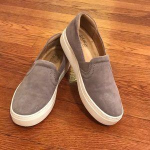 Gray Naturalizer Slip Ons